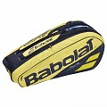 TORBA BABOLAT PURE RACKET HOLDER X6 YELLOW/BLACK