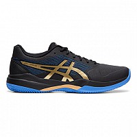 COPATI ASICS GEL GAME 7 CLAY 1041A046 - 012 BLACK/CHAMPAGNE