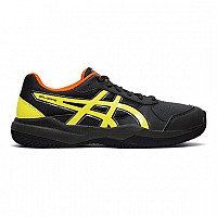 COPATI ASICS GEL GAME 7 CLAY GS 1044A010 - 011 BLACK/SOUR YUZU
