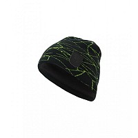 KAPA SPYDER MENS WEB HAT 185104 019 BLACK/GREEN