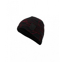 KAPA SPYDER MENS WEB HAT 185104 001 BLACK/RED