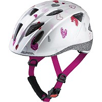 ALPINA  XIMO WHITE HEARTS BIKE HELMET