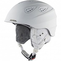 ALPINA GRAP 2.0 LE WHITE DIAMONDS MATT SKI HELMET