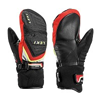 ROKAVICE LEKI RACE COACH C-TECH S JUNIOR MITT BLACK-RED-WHITE-YELLOW 2018