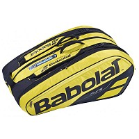 TORBA BABOLAT PURE RACKET HOLDER X12 YELLOW/BLACK