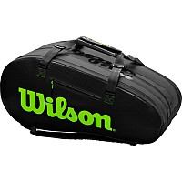 TORBA WILSON SUPER TOUR 3 COMPARTMENT CHARCO/GREEN