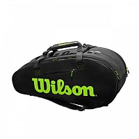 TORBA WILSON SUPER TOUR 2 COMPARTMENT LARGE CHARCO/GREEN