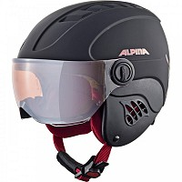 ALPINA CARAT VISOR M BLACK RED