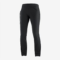 HLAČE POHODNE SALOMON WAYFARER AS TAPERED PANT ŽENSKE C11886 BLACK