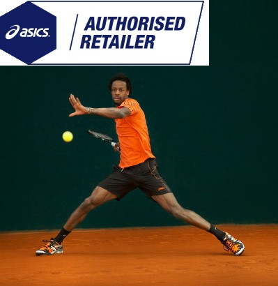asics tennis auhorised